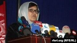 دلبر نظری وزیر امور زنان افغانستان