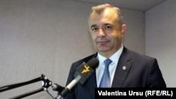 Ion Chicu moldáv miniszterelnök 2020. július 27-én.