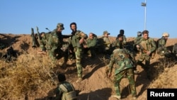 Iračke kurdske jedinice pešmerge istočno od Mosula u ofanizivi na IDIL, 17. oktobra 2016.