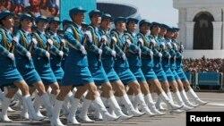 Казакстанда өткөн аскер парады. 7-май, 2015-жыл