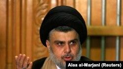 مقتدا الصدر د خبري غونډې پرمهال