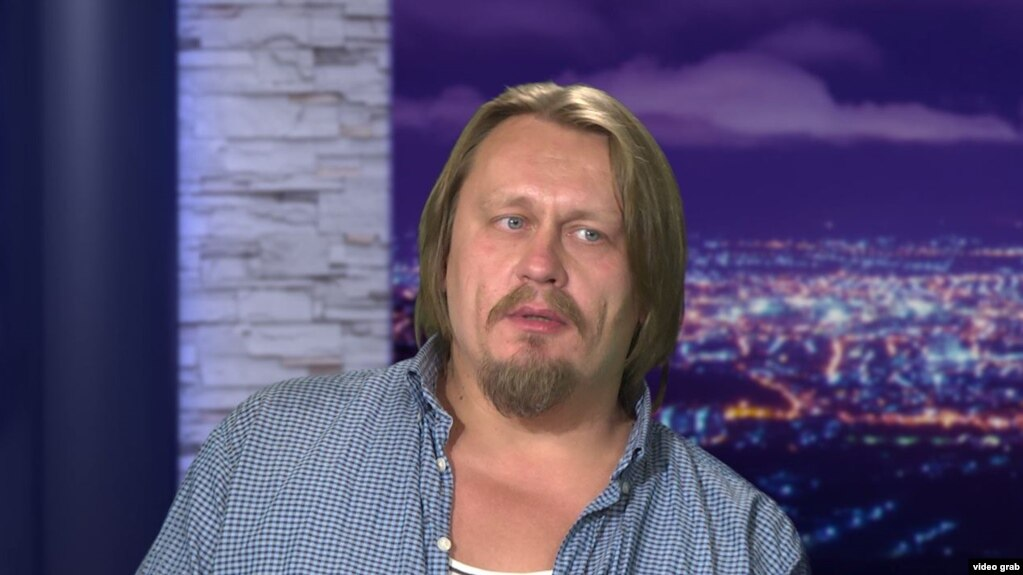 Dissident artist Oleg Vorotnikov (file photo)
