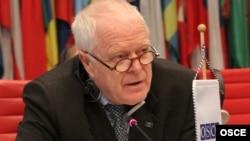 Комиссар Совета Европы по правам человека Томас Хаммарберг. Вена, 2 февраля 2012 года.