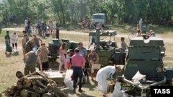 Вблизи села Овсянка установлен палаточный городок. Спасатели не исключают, что придется эвакуировать оставшихся жителей села