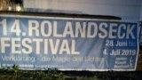 Afiș al Festivalului de la Rolandseck