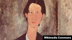 Амедео Модильяни. Портрет Хаима Сутина (фрагмент)