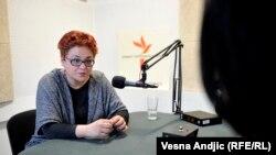 Tamara Skrozza u razgovoru sa novinarkom RSE Ljudmilom Cvetković