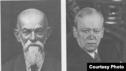 Профессора Д.Ф.Егоров и Н.Н.Лузин