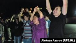 Виктор Цойдың туған күніне арналған концерт. Алматы облысы, 28 маусым 2014 жыл.