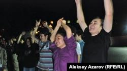 Концерт памяти Виктора Цоя. Алматинская область, 28 июня 2014 года.