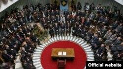 Sa ceremonije potpisivanja Ustava Kosova