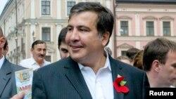 Грузияның бұрынғы президенті Михаил Саакашвили.