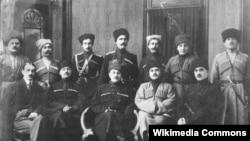 Къилбаседа Кавказан Ламанхойн Республикан куьйгалхой, Стигл,1918.