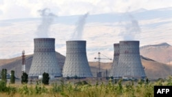 The Metsamor power plant near the Armenian capital, Yerevan.