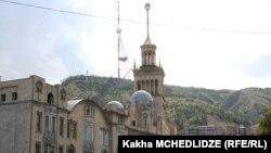 Тбилисская телевышка была построена в 1972 году (архивное фото)