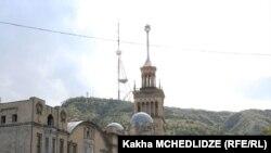 Тбилисская телевышка высотой 274,5 метра была построена в 1972 году
