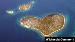 Otok Galešnjak, Hrvatska