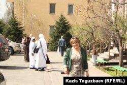 Антонина Тэн, прихожанка Католического Кафедрального собора Пресвятой Троицы. Алматы, 31 марта 2013 года.