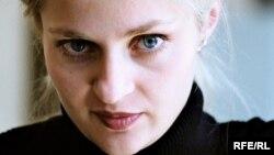 Ukraine - Maryana Drach, Acting Director, RFE/RL Ukrainian Service.