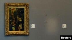 Кунстхал галереясында Анри Матистің картинасының орны бос тұр. Роттердам, қазан, 2012 жыл.