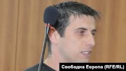 Максим Савов в съдебната зала