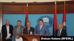 Milorad Dodik sa strankama vladajuće koalicije najavljuje referendum