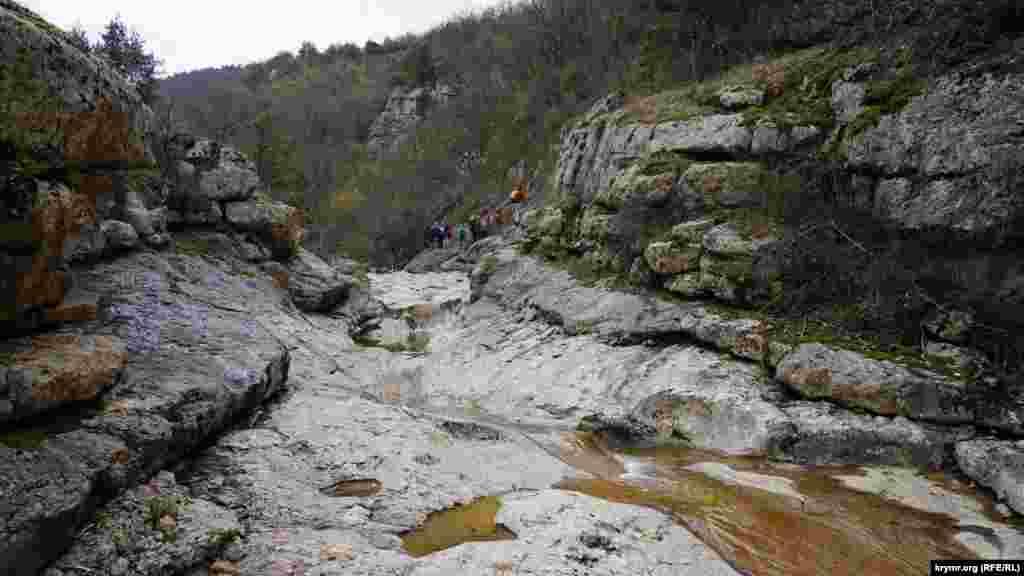 У Рожевій ущелині тече річка Арманка (Малташ-Узень)