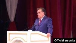 Эмомали Рахмон, президент Таджикистана. Душанбе, 20 марта 2016 года.