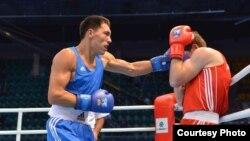 Чемпионат мира по боксу в Алматы, Казахстан. Момент боя. 18 октября 2013