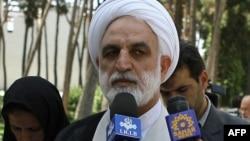 غلامحسین محسنی اژهای، سخنگوی قوه قضاییه ایران.