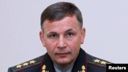 "Newly appointed Defense Minister Colonel General Valeriy Heletey said, ""Believe me, there will be a victory parade -- there will be for sure -- in Ukraine's Sevastopol."""