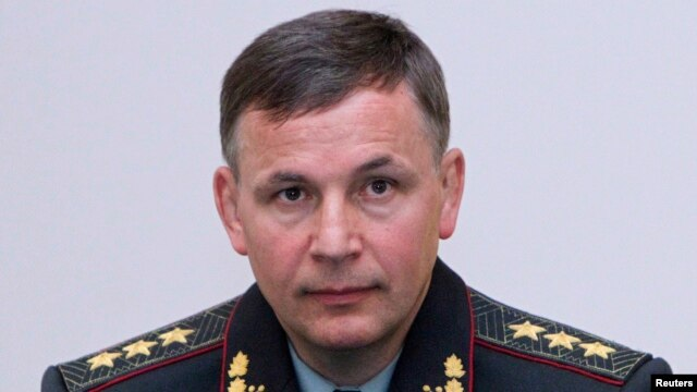 """Newly appointed Defense Minister Colonel General Valeriy Heletey said, """"Believe me, there will be a victory parade -- there will be for sure -- in Ukraine's Sevastopol."""""""