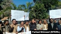 Protesta kunder vrasjes së gazetarëve, Pakistan