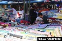Piața de produse din bumbac de la Xi'an