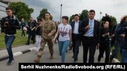 Надія Савченко в Україні, 25 травня 2016 року