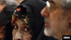 میر حسین موسوی و زهرا رهنورد