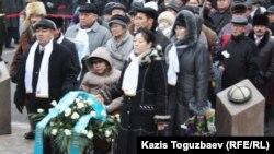 В Алматы отметили 25 лет Желтоксану