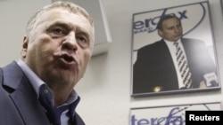Liberal Democratic Party of Russia (LDPR) leader Vladimir Zhirinovsky