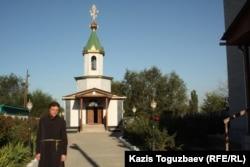 Отец Софроний. Поселок имени Туймебаева Алматинской области, 3 сентября 2013 года.