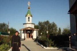 Отец Софроний. Поселок Туймебаева Илийского района Алматинской области, 3 сентября 2013 года.