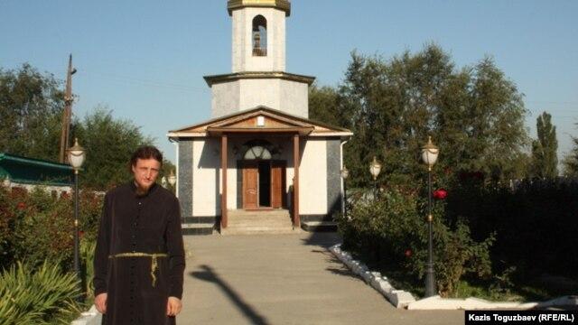 Отец Софроний. Поселок Туймебаева Алматинской области, 3 сентября 2013 года.