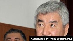 Генеральный секретарь Общенациональной социал-демократической партии Амиржан Косанов. Алматы, 20 декабря 2011 года.