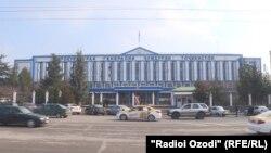 Здание Генеральной прокуратуры Таджикистана
