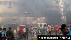 Egypt – country in turmoil, Giza, 15Aug2013
