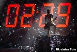 Виступ гурту О.Тorvald із піснею Time у фіналі національного конкурсу. Він представлятиме Україну на «Євробачення-2017». Київ, 26 лютого 2017 року
