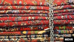 Iranian carpets; a traditional export that provides a lot of income to working class people.