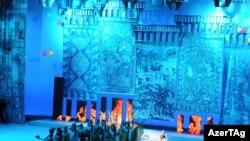 Heydər Əliyev Sarayında «Bakı İslam mədəniyyətinin paytaxtı–2009» Mədəniyyət ilinin rəsmi bağlanış mərasimi