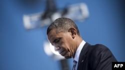 باراک اوباما رییس جمهوری آمریکا