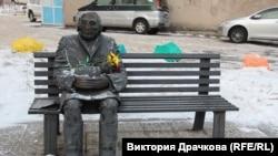 Памятник Козину в Магадане