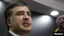 Georgian President Mikheil Saakashvili (file photo)